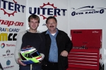 Mike Stoffels test bij Geva Racing