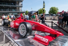 """Mazda""- motor voor Dallara IL 15  Indy Lights"