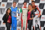 Rinus VK sluit internationale kartcarrière af met dubbel podium in BNL Karting Series in Genk