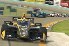 Sage Karam wint American Red Cross GP iRacing Watkins Glen
